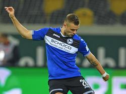 Linksverteidiger Florian Hartherz bleibt der Arminia zwei weitere Jahre erhalten