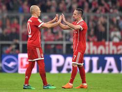 Ribéry ya ha renovado con el Bayern y jugará al lado de Robben otra temporada. (Foto: Getty)