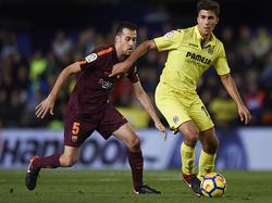 Rodri en un partido de LaLiga con el Villarreal. (Foto: Getty)