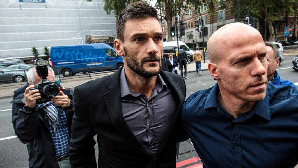 Hugo Lloris ist verurteilt worden