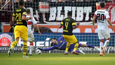 BVB-Keeper Roman Bürki hielt die Null bis zum Ende