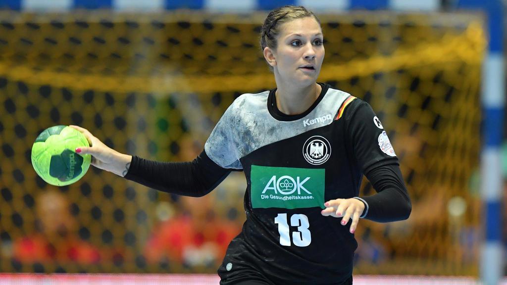 Julia Behnke und die deutschen Damen verloren ihr zweites EM-Gruppenspiel