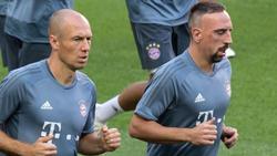 Fehlen zum Rückrundenstart: Arjen Robben (l.) und Franck Ribéry