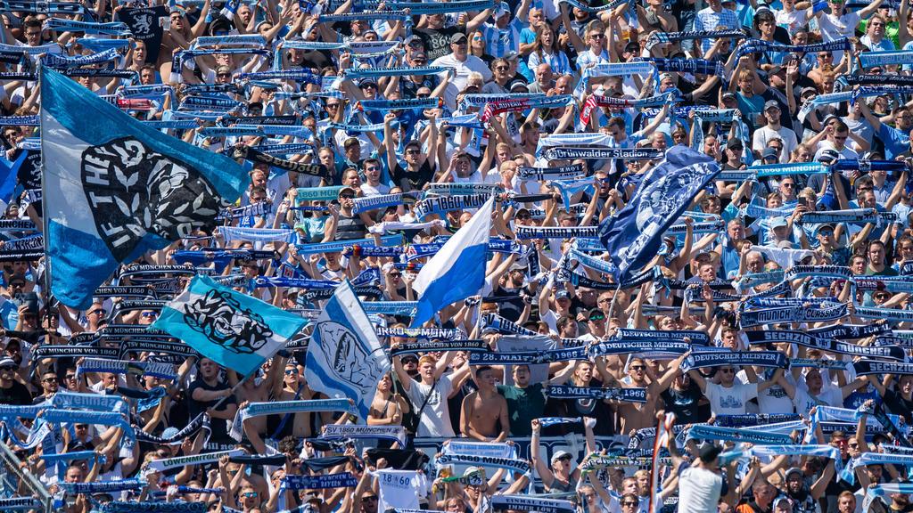 Das Drittliga-Match des TSV 1860 München gegen den Karlsruher SC läuft live im Ersten