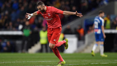 Karim Benzema traf für Real doppelt