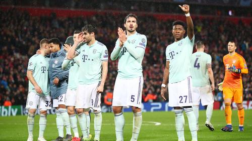 Der FC Bayern und der FC Liverpool trennten sich mit einem torlosen Remis