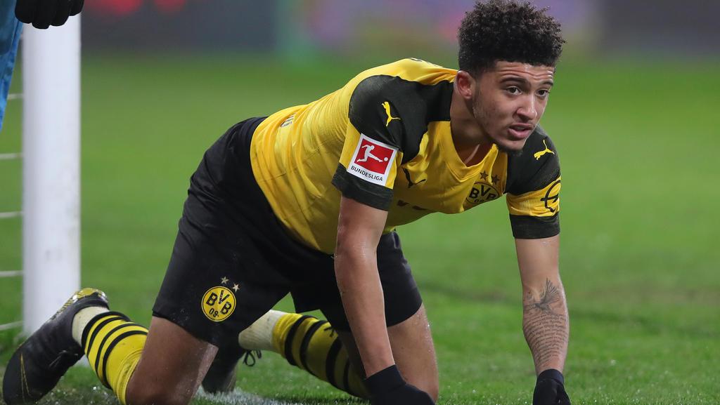 BVB-Talent Jadon Sancho soll einen Schlag abbekommen haben