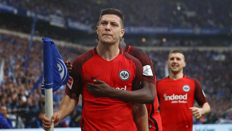 Luka Jovic wechselte unlängst fest von Benfica zu Eintracht Frankfurt