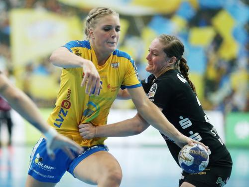 Anne Hubinger und der HC Leipzig verloren in Budapest