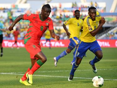 Guinea empató con Gab