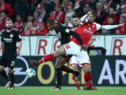 El derbi entre el Eintracht y el Mainz no tenía ganador. (Foto: Getty)