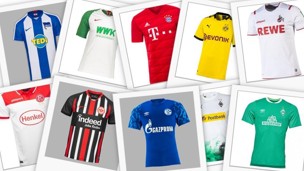 Welches Trikot für die Bundesliga-Saison 2019/2020 gefällt Dir am besten?