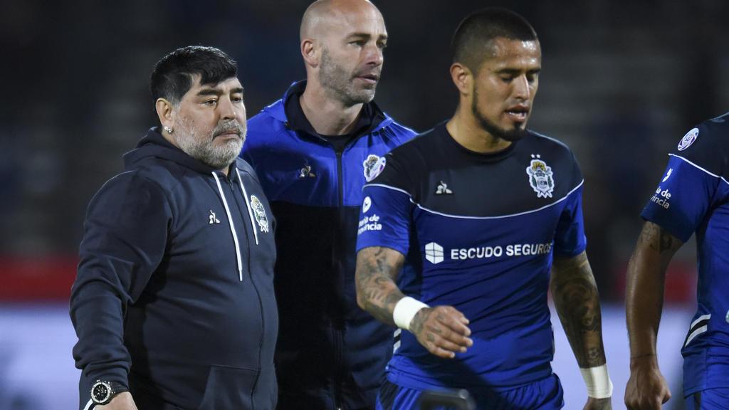 Diego Maradona aún no conoce la victoria como técnico en Argentina.