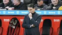 Leverkusen-Coach Seoane: Haben sich seine Spieler zu sehr unter Druck gesetzt?