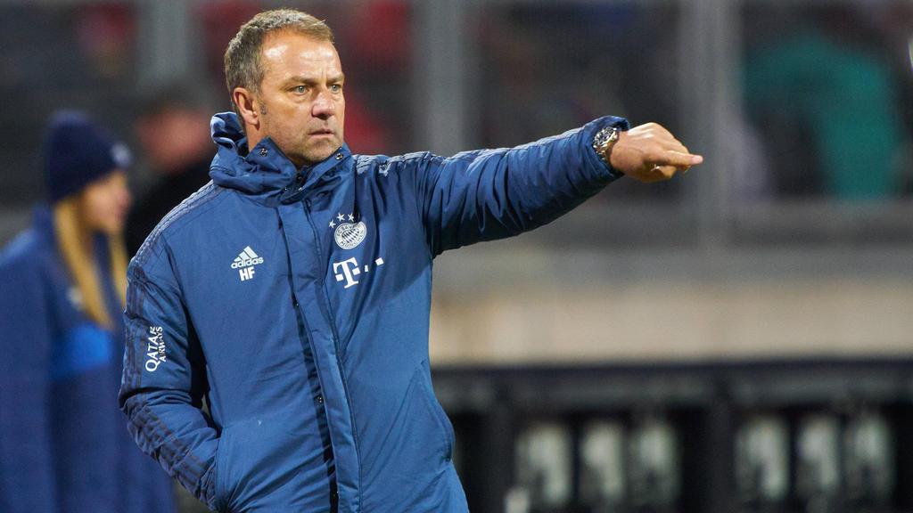 Hansi Flick unterlag zuletzt mit seinen Bayern gegen Nürnberg