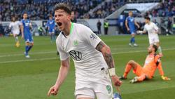 Wout Weghorst schoss den VfL Wolfsburg mit drei Toren zum Sieg in Hoffenheim