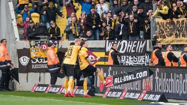 Dynamo Dresden hat im Abstiegskampf drei wichtige Punkte geholt