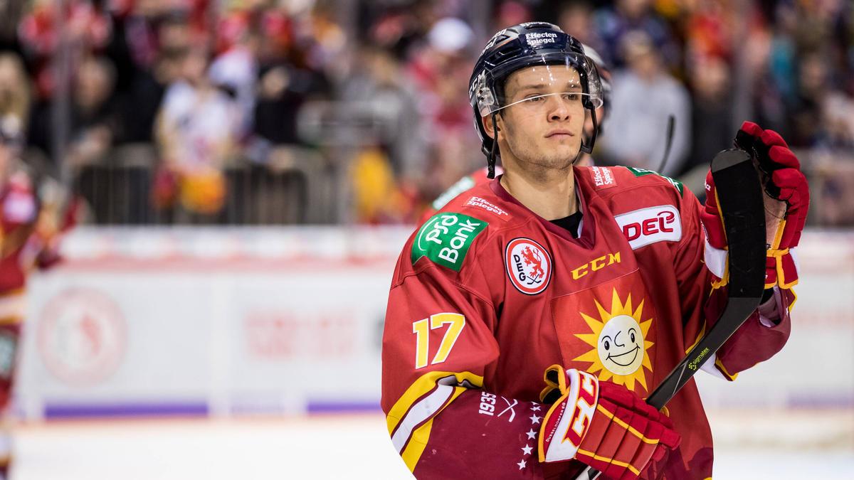 Leon Niederberger spielte seit 2015 für die DEG