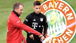 Tiago Dantas versucht sein Glück beim FC Bayern unter Trainer Hansi Flick