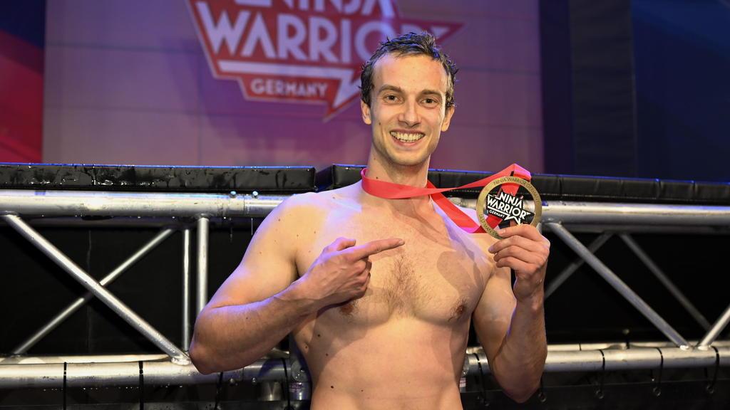 Alexander Wurm mit seiner Medaille!