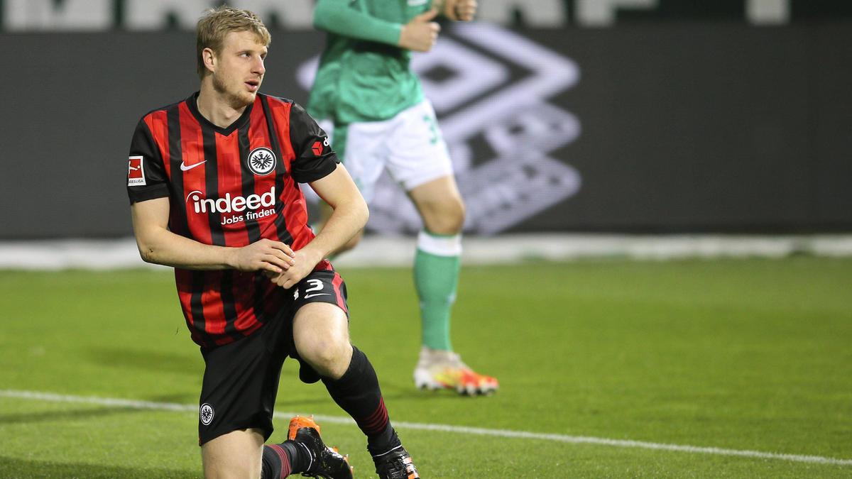 Martin Hinteregger ist Führungsspieler bei Eintracht Frankfurt