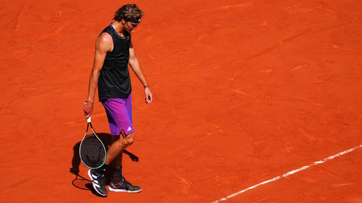 Zverev musste sich im Halbfinale der French Open geschlagen geben