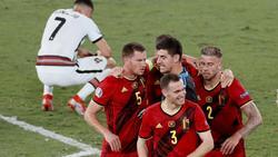 Belgien rang Portugal nieder