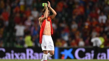 Luka Modric ist kein Mann der großen Töne