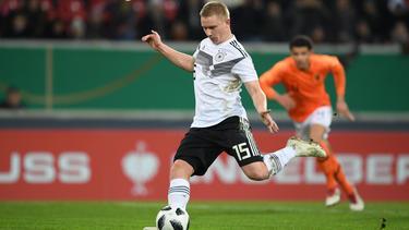 Philipp Ochs erzielte das erste Tor der DFB-Youngster