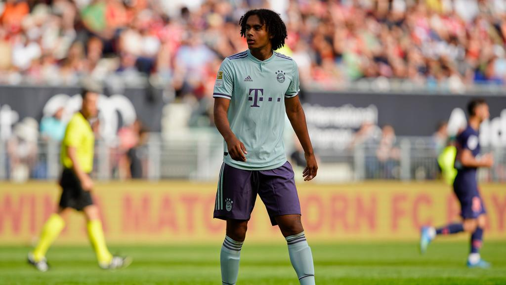 Joshua Zirkzee ist neu im Champions-League-Kader des FC Bayern
