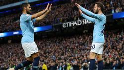 Ilkay Gündogan (li.) traf beim Sieg von Manchester City gegen Bournemouth
