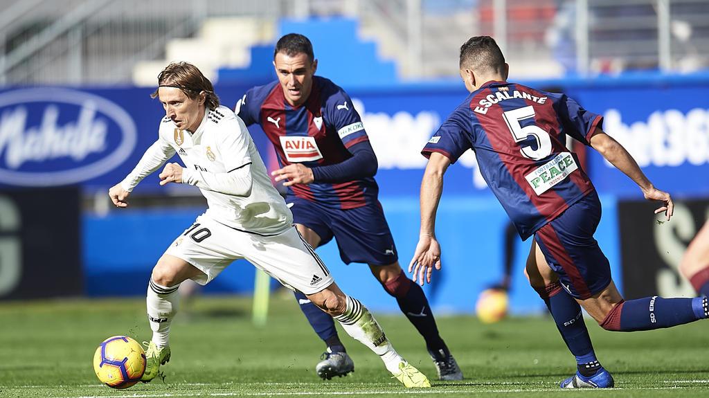 Real Madrid blamiert sich bei La Liga bei SD Eibar