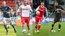 Ein Quartett kämpft aktuell um den Aufstieg in die Fußball-Bundesliga