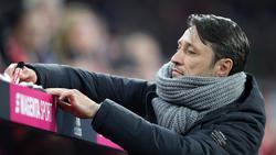 Niko Kovac war nach dem Sieg gegen Schalke 04 nicht vollends zufrieden