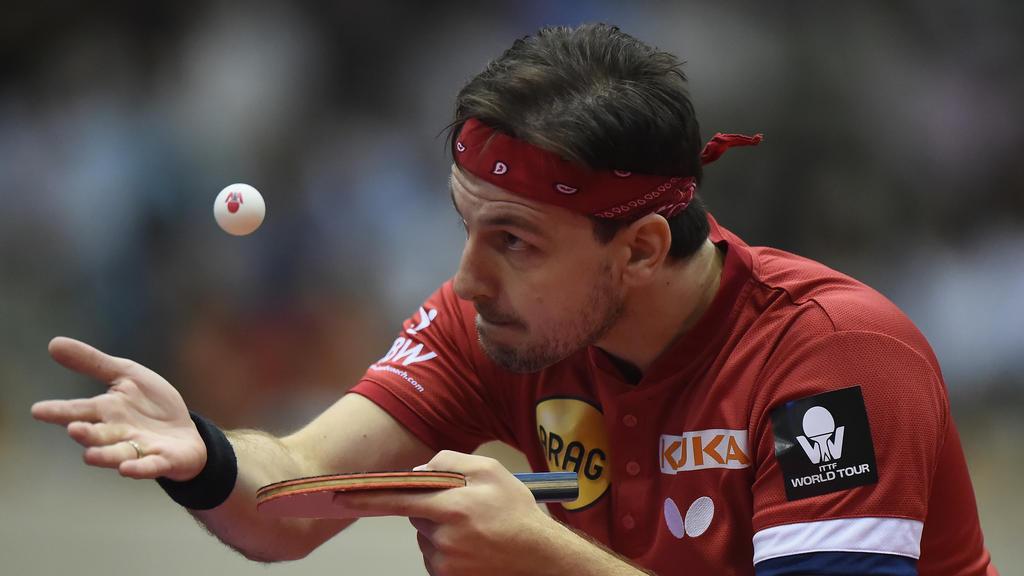 Verpasste mit Düsseldorf das DM-Finale: Timo Boll