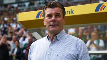 Der HSV hat mit Trainer Dieter Hecking gesprochen