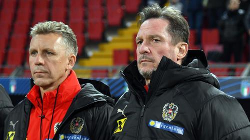 Trainer Werner Gregoritsch und Österreich siegten gegen Frankreich