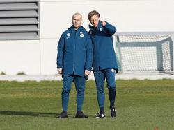 Freddie Ljungberg (l.), Andries Jonker (r.)