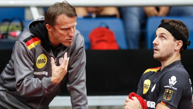 Die deutschen Tischtennis-Teams haben sich souverän für Olympia qualifiziert