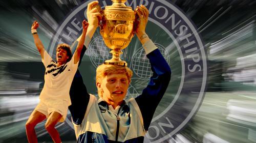 Boris Becker und Michael Stich schrieben am 7. Juli Wimbledon-Geschichte