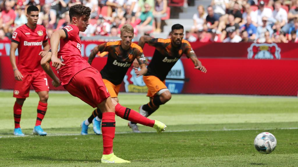 Kai Havertz traf für Leverkusen, dennoch verlor die Werkself