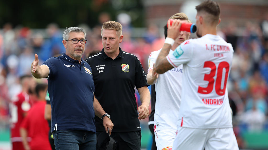 Union-Coach Urs Fischer möchte, dass sein Team aus den Fehlern zum Auftakt lernt
