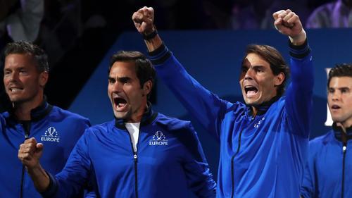 Federer und Nadal sammelten Punkte für Team Europa