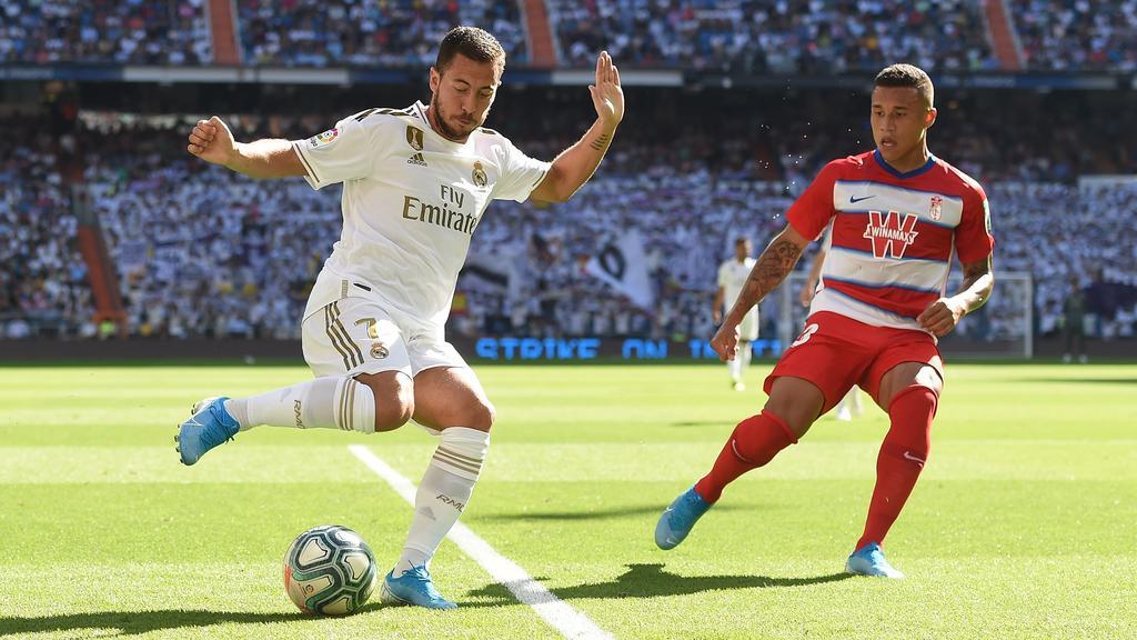 Eden Hazard (l.) erzielte das zwischenzeitliche 2:0 für Real Madrid