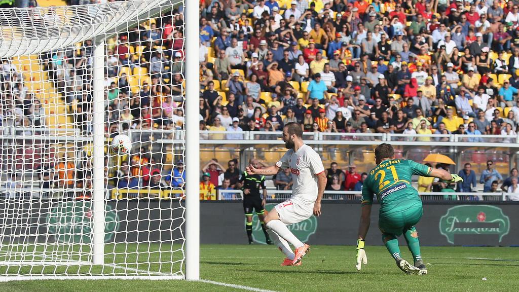 Juventus lässt Punkte in Lecce liegen