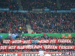 Österreichische Fans auf der Tribüne
