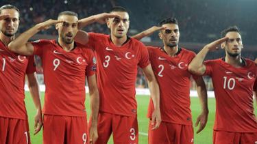 Sorgte erneut für Diskussion:Der Salut-Jubel türkischer Fußball-Nationalspieler
