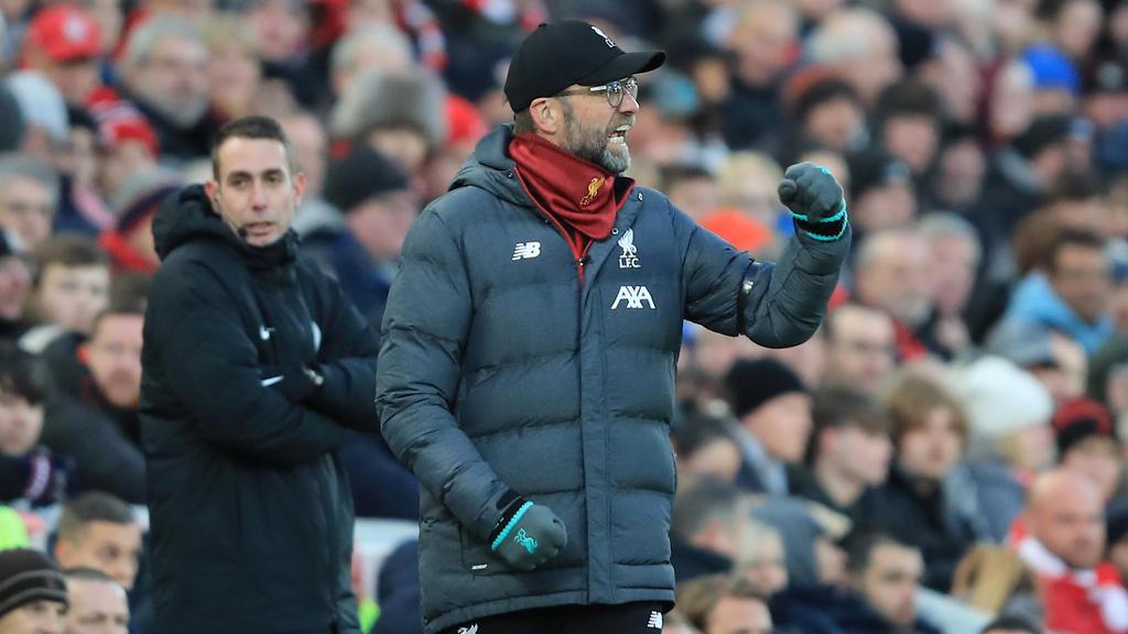 Jürgen Klopp ist in der Premier League derzeit unschlagbar