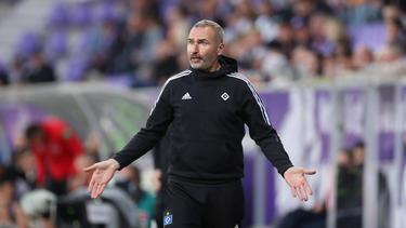 HSV-Trainer Tim Walter setzte sich zur Wehr