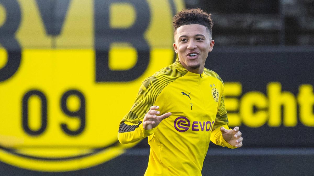 """Jadon Sancho spielt in der Saison 2020/2021 """"definitiv"""" für den BVB"""